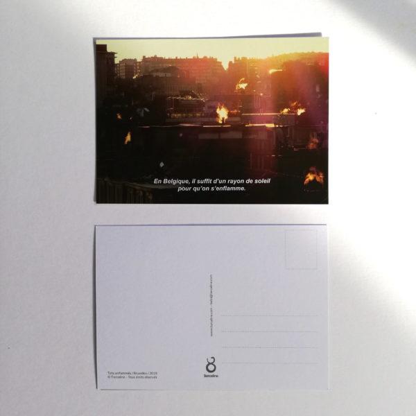 recto verso_carte postale_toits enflammés_tierceline