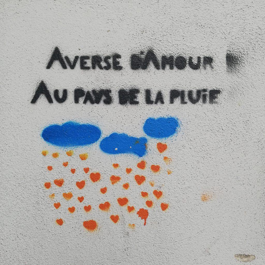 Averse d'amour, au pays de la pluie. Tierceline