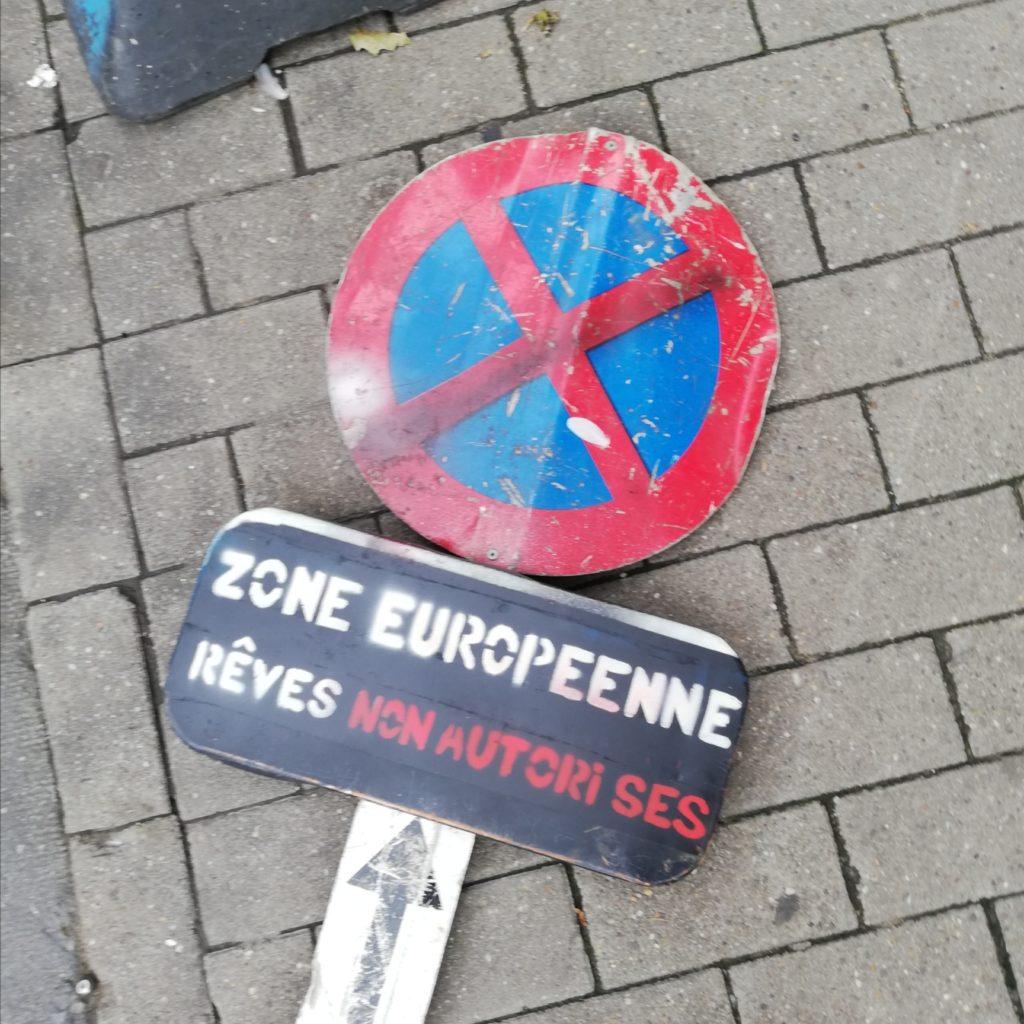Zone européenne. Rêves non autorisés. Tierceline
