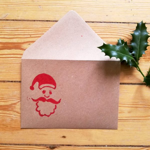 Enveloppes Père Noël par Tierceline.